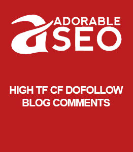 High TF CF Dofollow Blog Comments