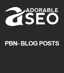 PBN- Blog Posts